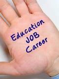 Éducation, le travail, carrière Images libres de droits