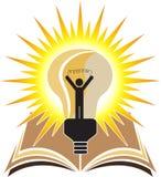Éducation lumineuse illustration stock