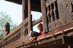 Éducation monastique Photos libres de droits