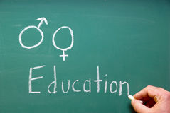 Éducation sexuelle photos libres de droits