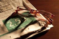 égaliser des finances Photos stock