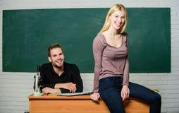 Égalité des droits et libertés Université d'étude d'homme et de femme Bonne éducation Mentorship et programmes d'enseignement images stock