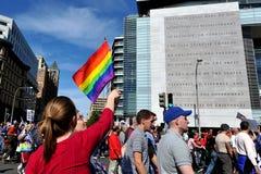 Égalité nationale mars dans le Washington DC Photo stock