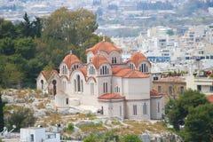 Église à Athènes photo stock
