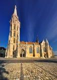 Église à Budapest Photos stock
