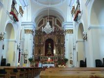 Église à Estepona Images libres de droits