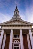 Église à Hannovre, Pennsylvanie photographie stock libre de droits