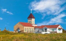 Église à l'île de Jeju Images libres de droits