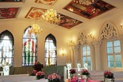 Église à l'intérieur. Photographie stock