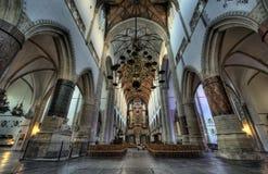 église à l'intérieur Image stock