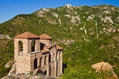 Église à la forteresse d'Asen Image stock