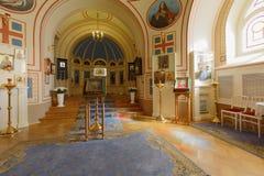 Église à la maison de palais de Yusupov à St Petersburg, Russie Photo stock