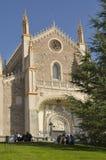 Église à Madrid Photographie stock libre de droits