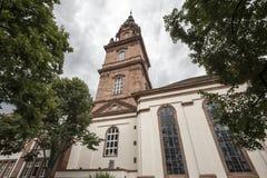 Église à Mannheim Allemagne photos libres de droits
