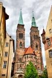 Église à Nuremberg photographie stock libre de droits