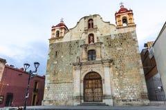 Église à Oaxaca, Mexique Images stock