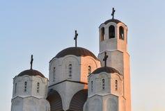 Église à Skopje Photo libre de droits