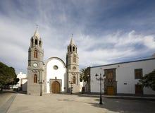 Église à Telde Photos stock