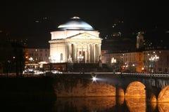 Église à Torino Photo stock