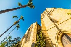 Église épiscopale de trinité du ` s de Santa Barbara Images libres de droits