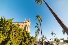 Église épiscopale de trinité du ` s de Santa Barbara Photo stock