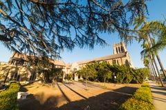 Église épiscopale de trinité en Santa Barbara Images stock