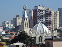 Église évangélique Images libres de droits