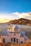Église, île de Kalymnos Photos libres de droits