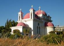 Église 2010 de Kapernaum Photos libres de droits