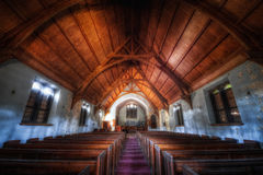 Église abandonnée Images libres de droits