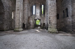 Église abandonnée antique Images libres de droits