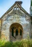 Église abandonnée dans Banostor de Serbie Photo stock