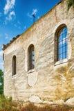 Église abandonnée dans Banostor de Serbie Image stock