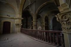 Église abandonnée quelque part en Espagne photographie stock libre de droits