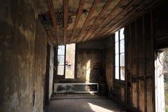 Église abandonnée, Rodney, Mississippi Image stock
