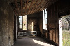 Église abandonnée, Rodney, Mississippi Photos libres de droits