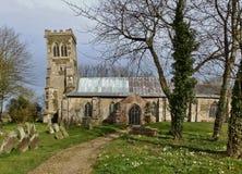 Église anglaise de pays Photographie stock libre de droits