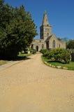 Église anglaise rurale Image libre de droits
