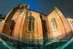 Église Anglicane à Bucarest, Roumanie Photographie stock