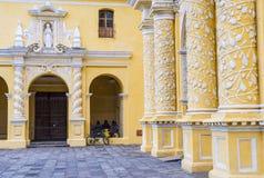 Église Antigua de Merced de La photographie stock