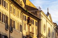 Église antique à Rome Photographie stock libre de droits
