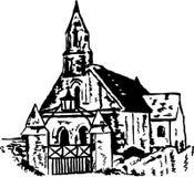 Église antique Photographie stock libre de droits