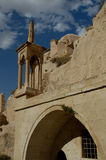 Église antique chez Cappadocia Images libres de droits