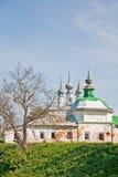 Église antique chez Suzdal Images libres de droits