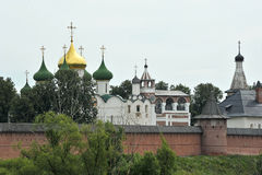Église antique dans Suzdal Image libre de droits