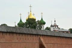 Église antique dans Suzdal Photographie stock libre de droits