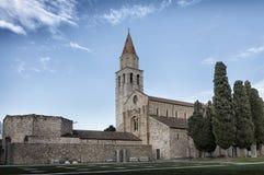 Église antique de vue extérieure Image libre de droits