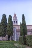 Église antique de vue extérieure Image stock