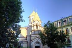 Église apostolique arménienne de Surb Kristos Amenaprkachekheci d'église du Christ saint du sauveur photos stock
