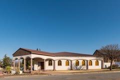 Église apostolique de mission de foi dans Theunissen dans l'état gratuit photos libres de droits
